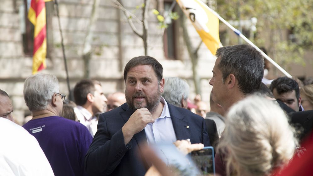 Foto: El vicepresidente de la Generalitat y 'conseller' de Economía, Oriol Junqueras. (EFE)