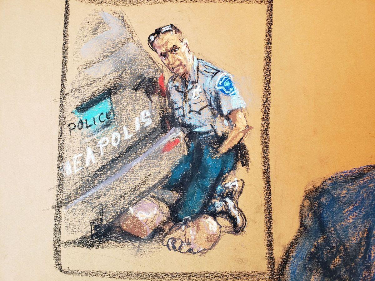 Foto: Murder trial of former minneapolis police officer derek chauvin