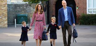 Post de El gran debut de la princesa Charlotte: su primer día de cole 'escondida' y emocionada