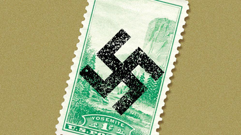 Foto: Detalle de la portada de 'La conjura contra América' de Philip Roth. (Random House)