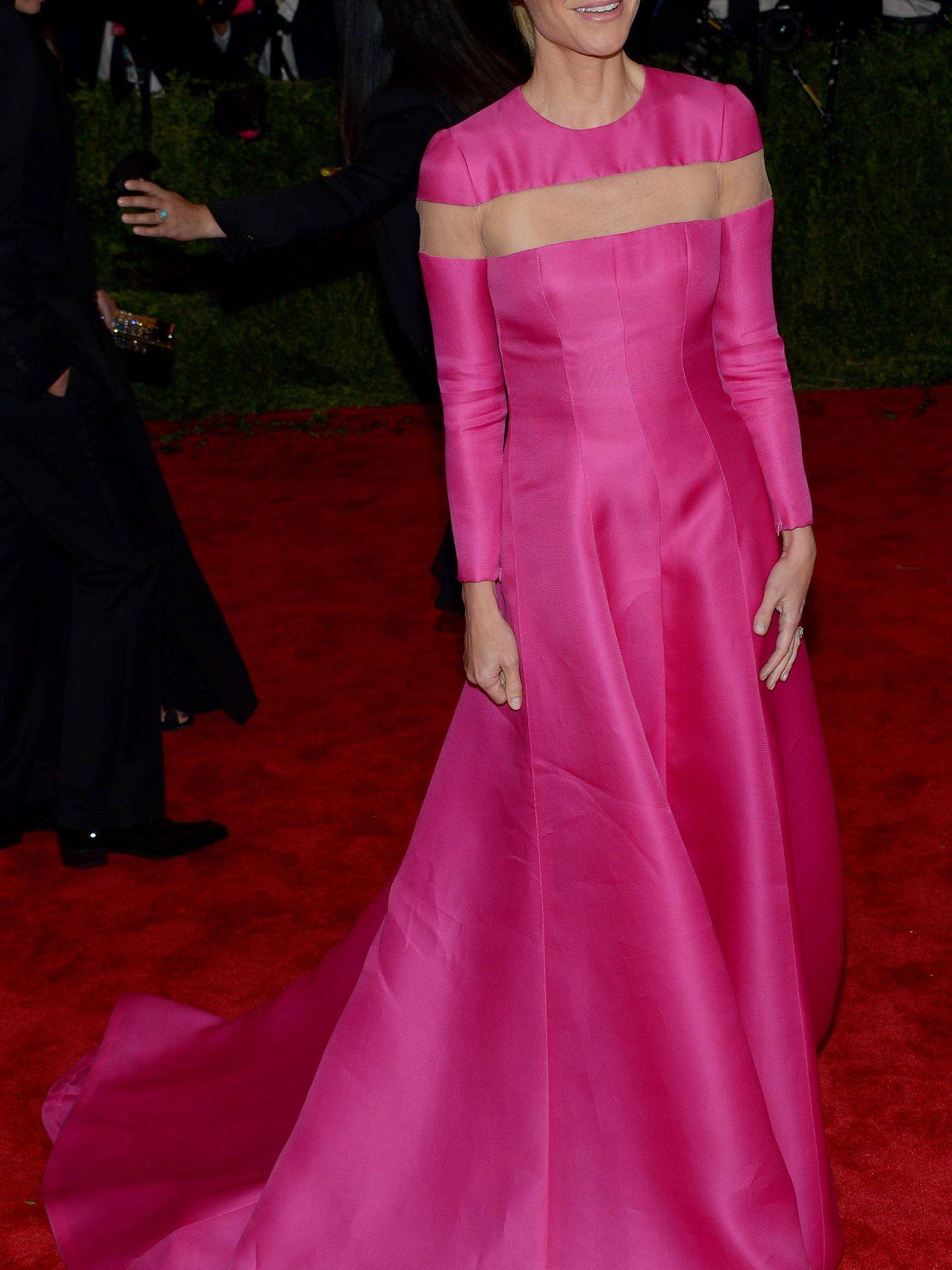 La actriz Gwyneth Paltrow hace unos años con un vestido cut out de alfombra roja.  (EFE)