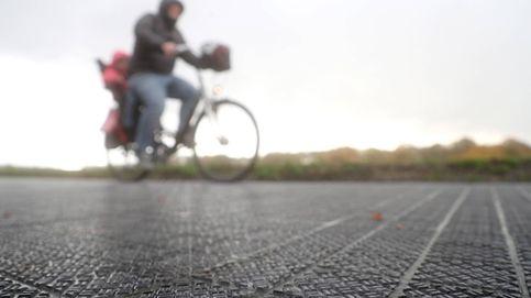 Primer carril solar para bicicletas en Colonia