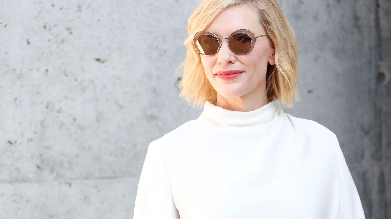 Cate Blanchett de rubia platino. (EFE)