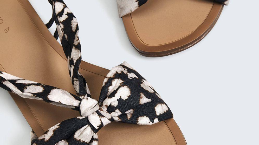 Foto: Las sandalias de Oysho. (Cortesía)