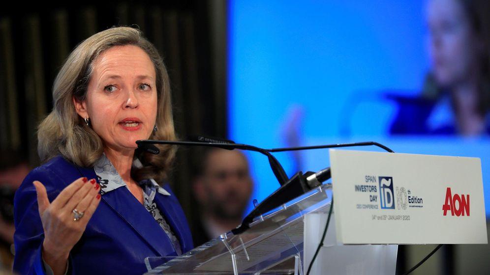 Foto: La vicepresidenta del Gobierno y ministra de Asuntos Económicos y Transformación Digital, Nadia Calviño