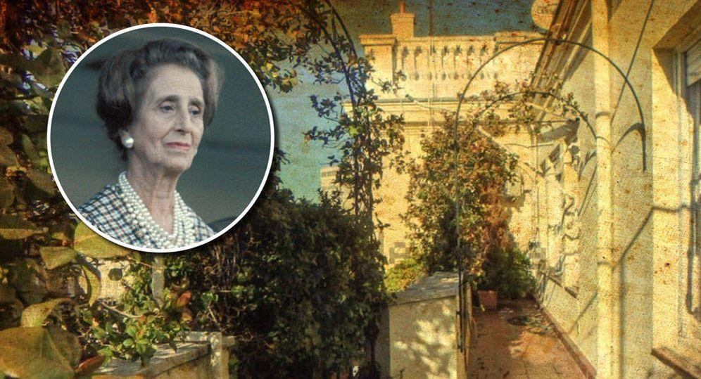 Foto: Carmen Polo, la mujer de Franco, y su piso en alquiler en Idealista. (Vanitatis)
