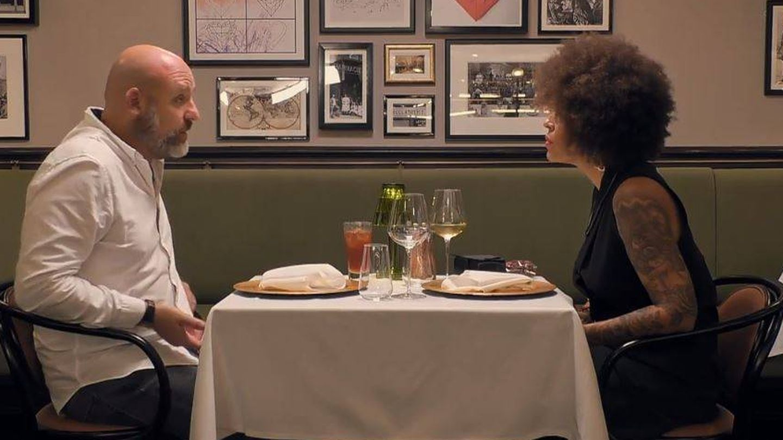 La cita de Walter y Silvia en 'First dates: crucero'. (Cuatro)