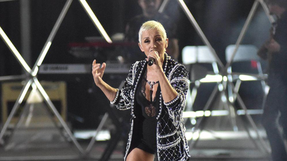 Foto: La cantante Ana Torroja durante su concierto en Starlite Festival de Marbella. (Gtres)