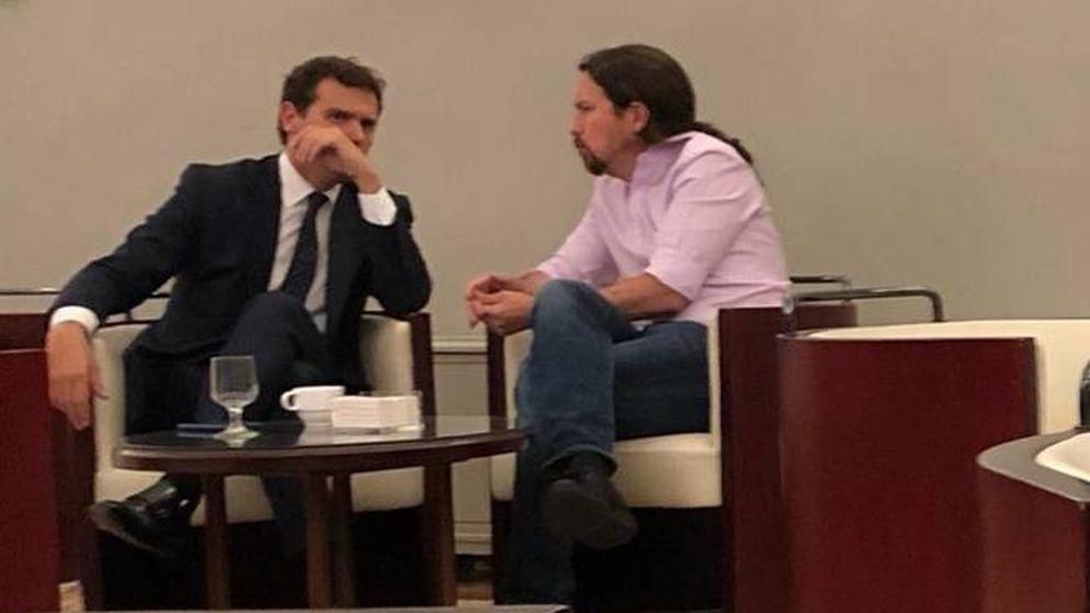La pinza Cs-Podemos contra Sánchez: el PSOE, único culpable del 10-N