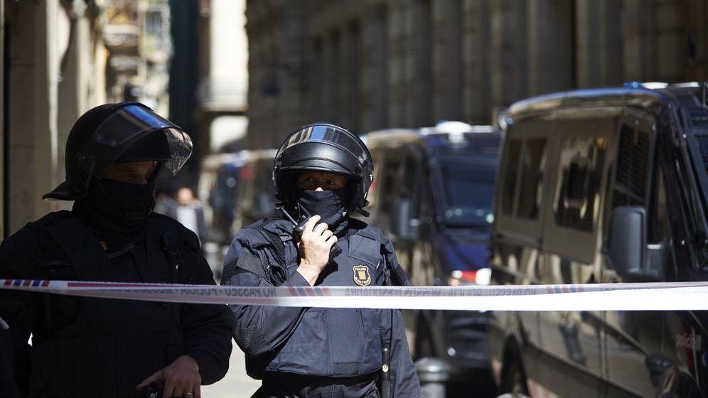 Foto: Mossos d'Esquadra, el pasado 3 de mayo. (EFE)