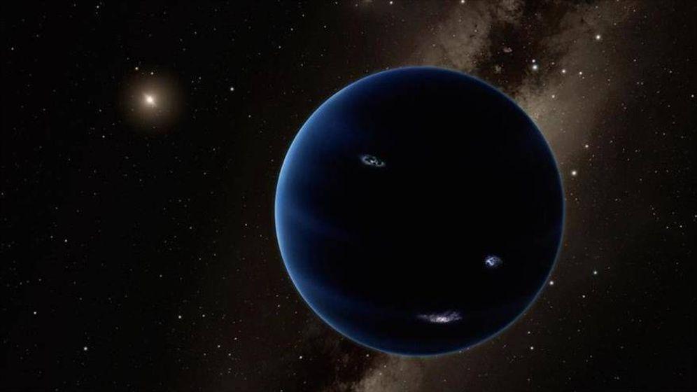 Foto:  Ilustración del misterioso Planeta 9 (Caltech)