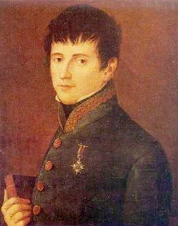 Foto: El general Rafael del Riego, de autor anónimo.