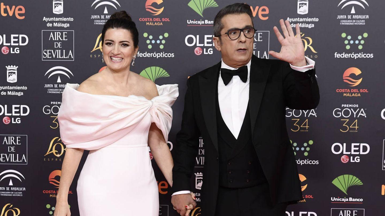 Silvia Abril y su marido, Andreu Buenafuente. (Getty)