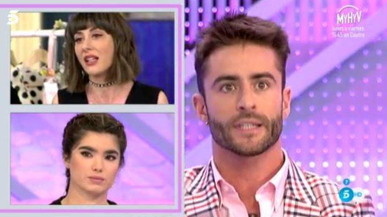 Pelayo Díaz, Paloma González y Natalia Ferviú se enfrentan.