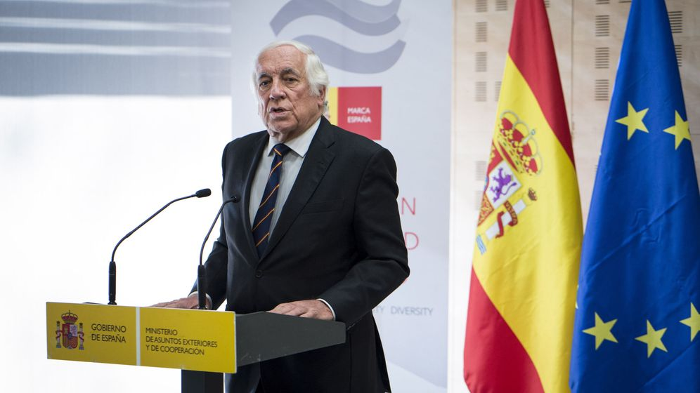 Foto: El representante de Marca España, Carlos Espinosa de los Monteros, en un acto a principios de este año. (EFE)