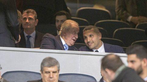 El rey Juan Carlos: almuerzo con Sarkozy y visita al Bernabéu en mitad de las investigaciones sobre su fortuna
