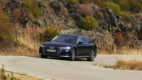 Audi A8, etiqueta ECO y navegación a vela
