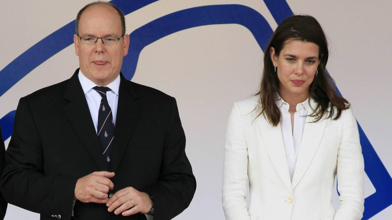 Alberto de Mónaco y Carlota Casiraghi. (Reuters)