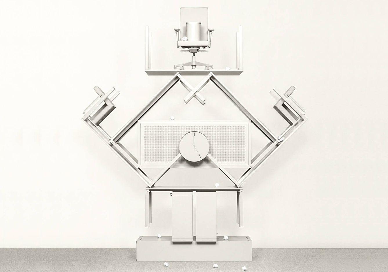Foto: La línea de muebles de oficina nace con el objetivo confeso de pasar desapercibida.