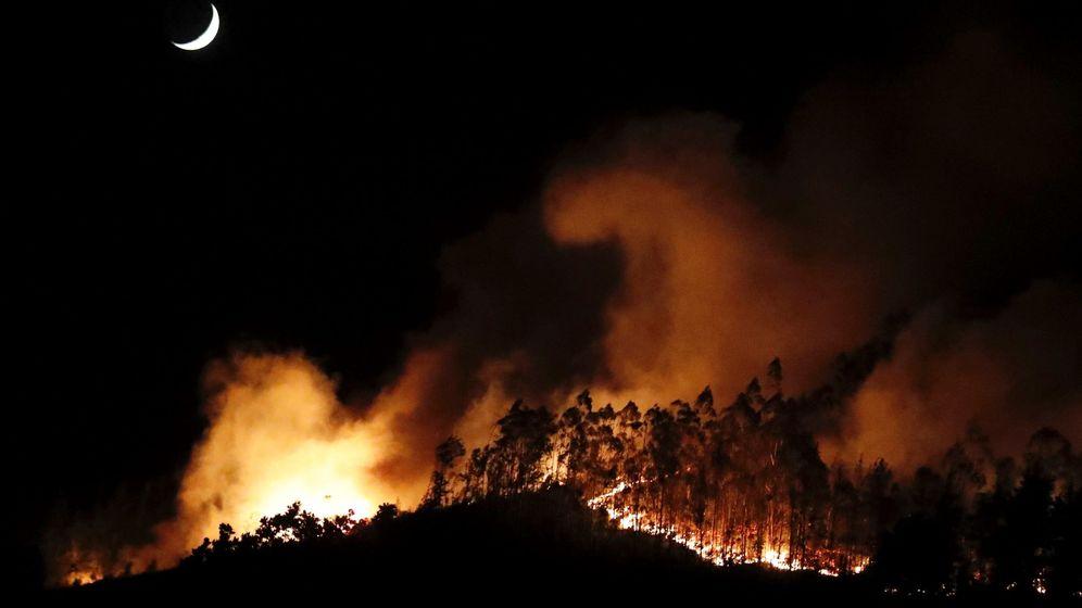 Foto: Incendio en Sorella. (EFE)