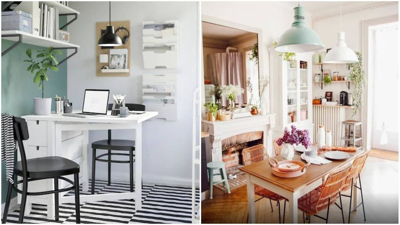 Muebles de Ikea y La Redoute. (Cortesía)