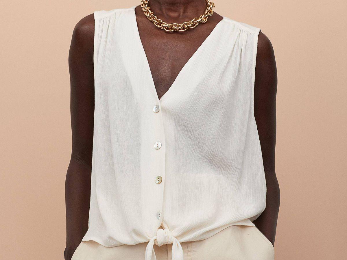 fantasma Inconsistente posibilidad  Estas blusas de H&M te harán volver al trabajo con estilo y comodidad