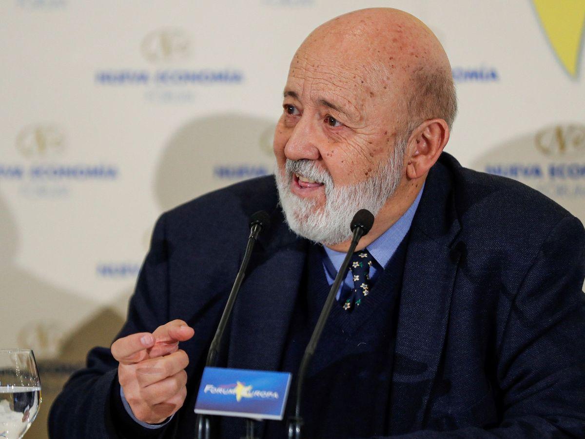 Foto: José Félix Tezanos, presidente del CIS, el pasado 11 de noviembre. (EFE)