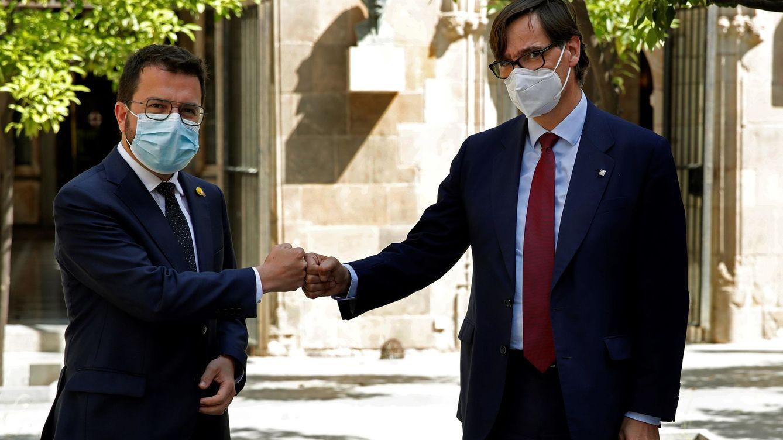 El PSC, abierto a rescatar los Presupuestos de Pere Aragonès por la crisis de El Prat