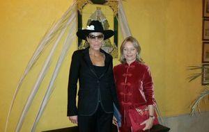 Kalina de Bulgaria y Gloria Camila comparten una noche flamenca en Sevilla