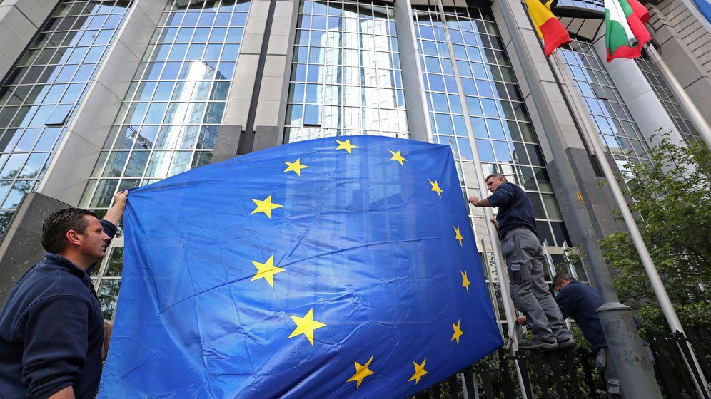 Foto: Bandera de la Unión Europea. (Reuters)