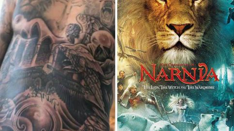 ¿Se ha tatuado Justin Bieber el cartel de 'Las crónicas de Narnia'?