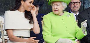 Post de Los modales de Meghan Markle, motivo de un 'zasca' real de la reina Isabel II