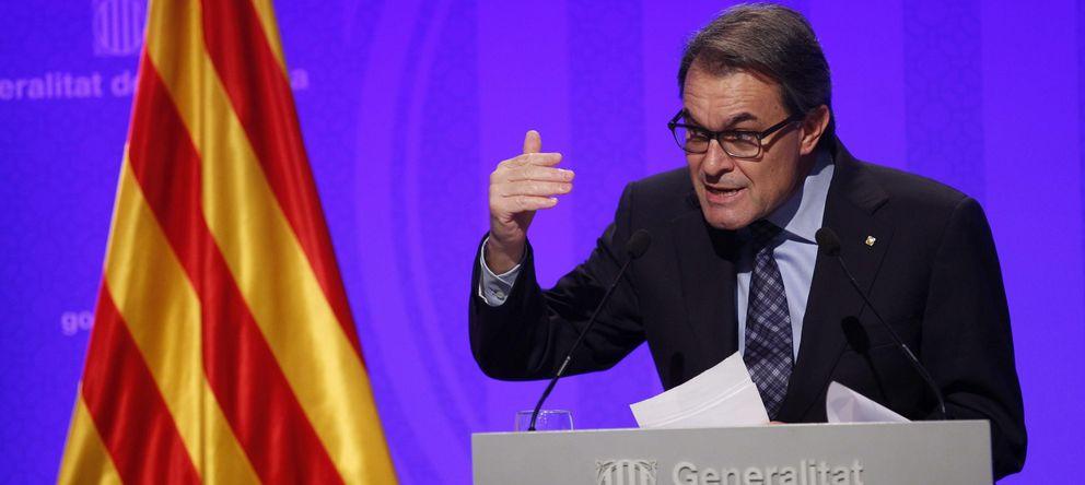 Foto: El presidente catalán, Artur Mas (EFE)