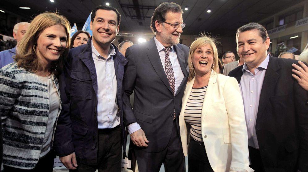 Foto: María José García Pelayo (2d) en una imagen de archivo. (EFE)