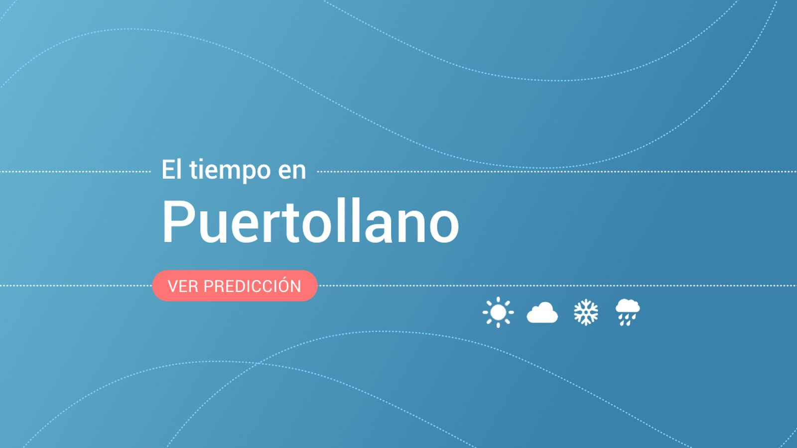 Foto: El tiempo en Puertollano. (EC)