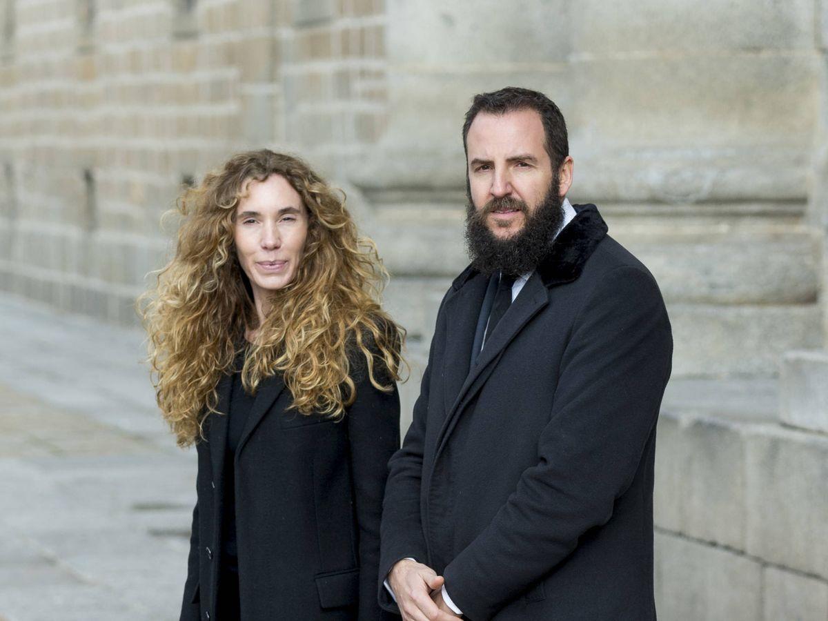Foto: Blanca Cuesta y Borja Thyssen, en una imagen de archivo. (Getty)