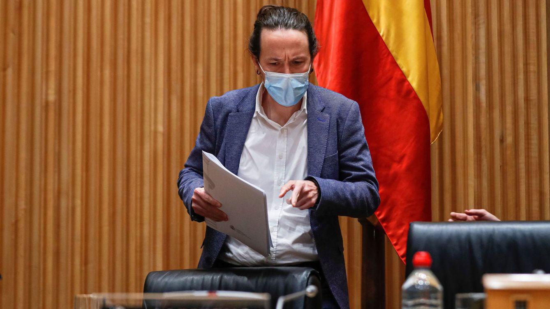Foto: El vicepresidente segundo del Gobierno y ministro de Derechos Sociales y Agenda 2030, Pablo Iglesias. (EFE)