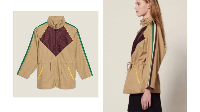 La chaqueta de entretiempo más deseada este año es de Sandro. (Cortesía)