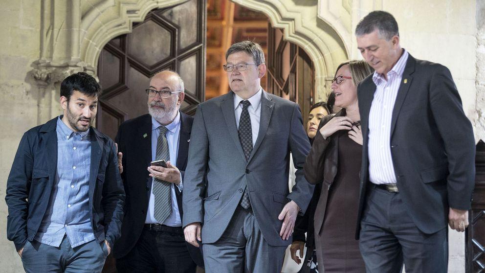 Puig desoye a los críticos del PSOE y ultima la Entesa de izquierda al Senado