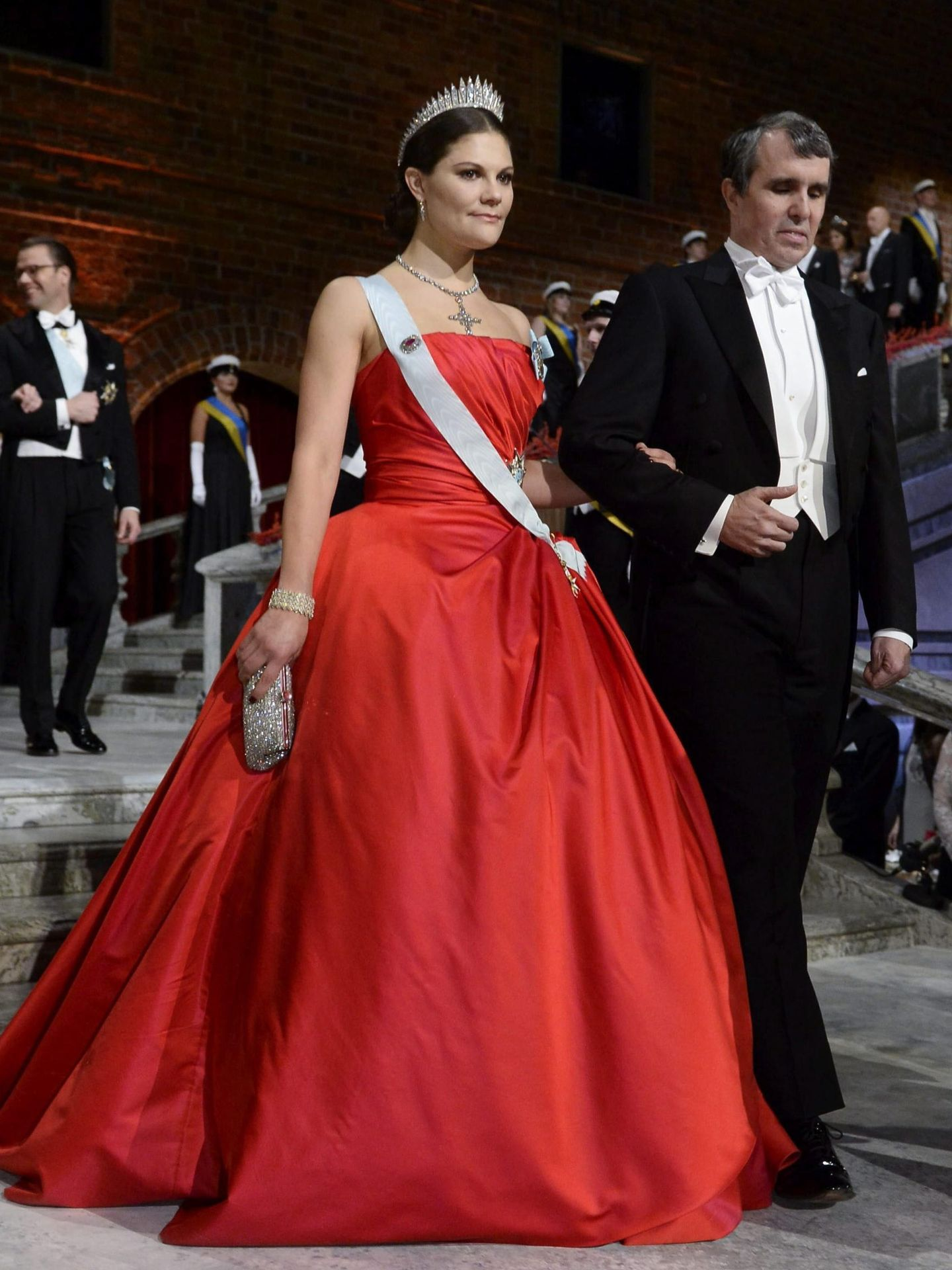 La princesa Victoria, en la gala de 2014. (EFE)