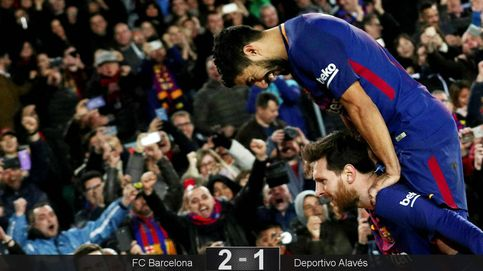 Messi y Suárez ponen en su sitio a un Alavés que tiene serios motivos de queja
