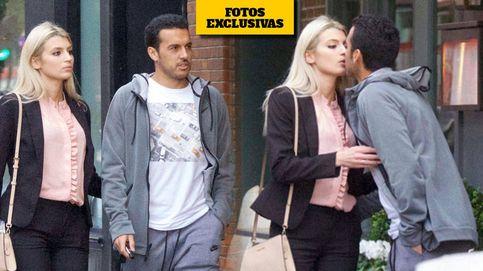 Pillan al futbolista Pedro Rodríguez besando a una mujer que no es su esposa