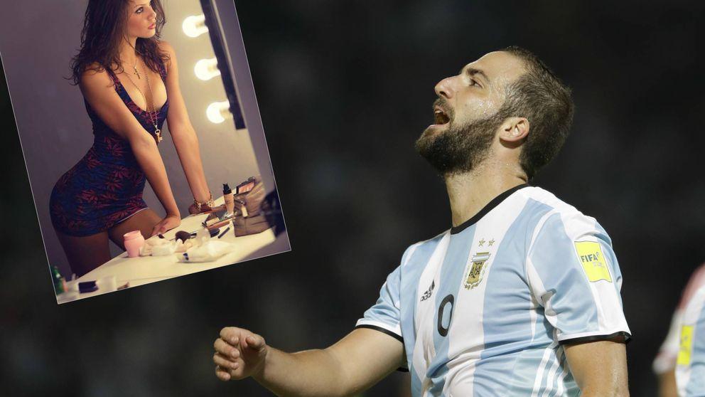 Gonzalo Higuaín, envuelto en un escándalo sexual con una modelo de 18 años