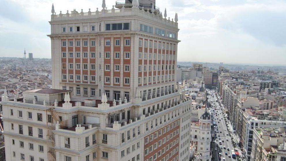 Los pisos en Edificio España: entre 14.000 y 4.000 euros el metro cuadrado