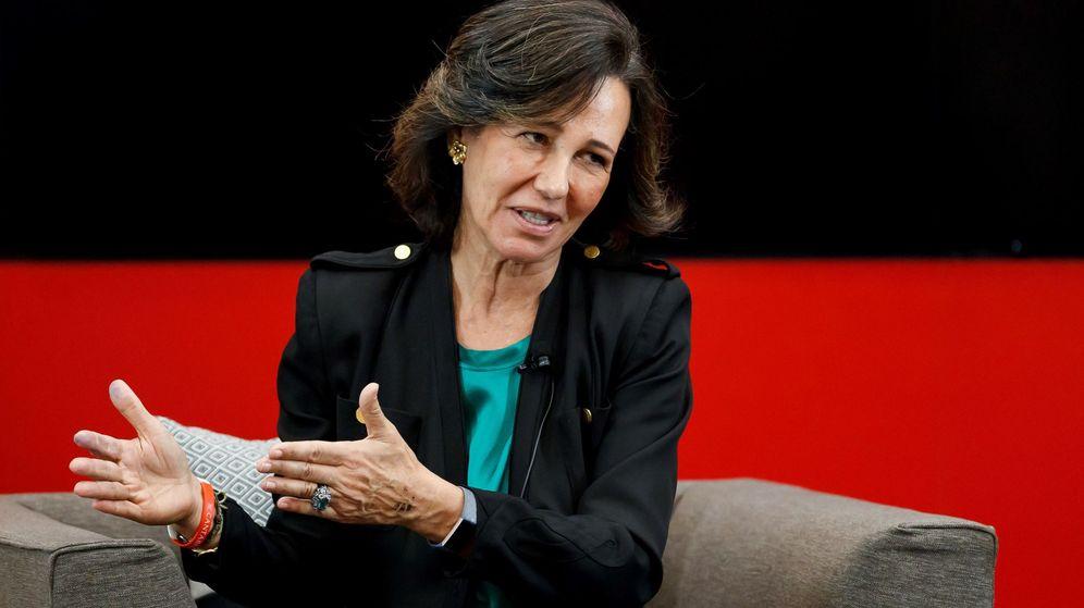 Foto: Ana Botín, presidenta de Santander (Efe)