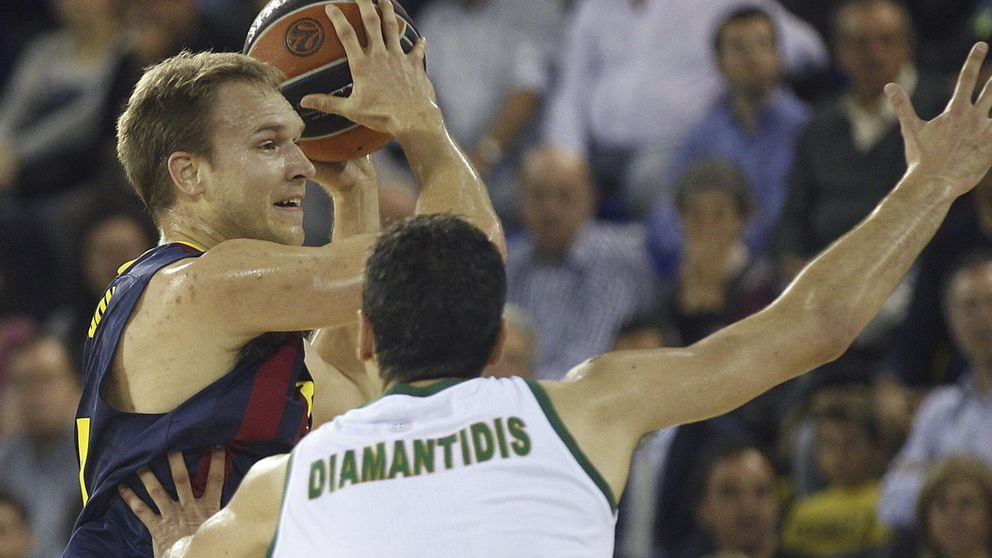 El Barcelona sigue con paso firme en la Euroliga tras ganar al Panathinaikos
