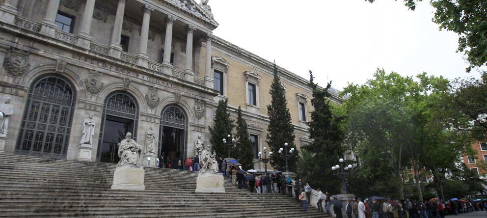 Foto: Fachada de la Biblioteca Nacional (EFE)