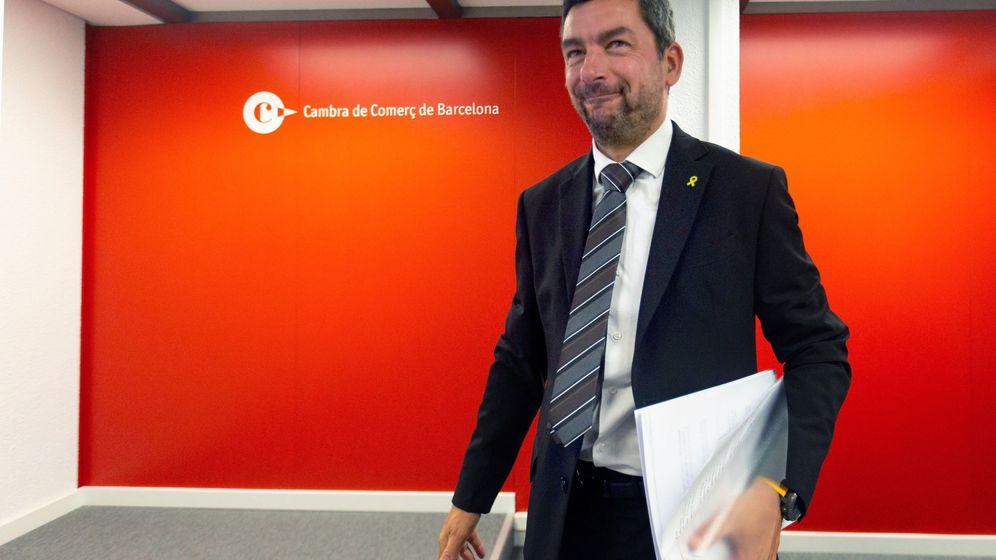 Foto: El presidente de la Cámara de Comercio de Barcelona, Joan Canadell. (EFE)