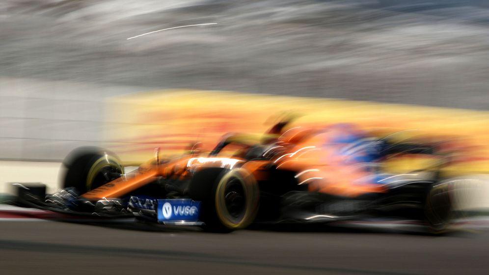 Foto: McLaren quiere explotar todo el rendimiento posible en el MCL35 antes de que termine esta era de la Fórmula 1. (EFE)