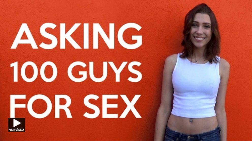 Esto es lo que ocurre cuando una mujer pide sexo a 100 hombres  diferentes